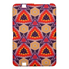 Triangles honeycombs and other shapes pattern			Kindle Fire HD 8.9  Hardshell Case