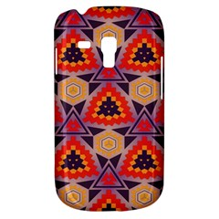 Triangles Honeycombs And Other Shapes Pattern			samsung Galaxy S3 Mini I8190 Hardshell Case