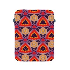 Triangles honeycombs and other shapes pattern			Apple iPad 2/3/4 Protective Soft Case