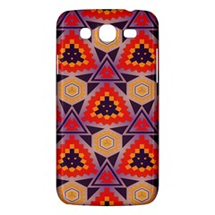 Triangles honeycombs and other shapes pattern			Samsung Galaxy Mega 5.8 I9152 Hardshell Case