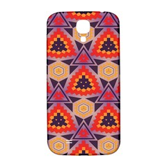 Triangles honeycombs and other shapes pattern			Samsung Galaxy S4 I9500/I9505 Hardshell Back Case