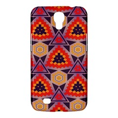 Triangles honeycombs and other shapes pattern			Samsung Galaxy Mega 6.3  I9200 Hardshell Case