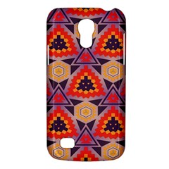 Triangles honeycombs and other shapes patternSamsung Galaxy S4 Mini (GT-I9190) Hardshell Case