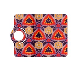 Triangles honeycombs and other shapes patternKindle Fire HD (2013) Flip 360 Case