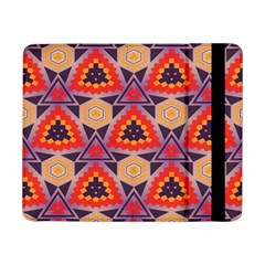 Triangles Honeycombs And Other Shapes Pattern			samsung Galaxy Tab Pro 8 4  Flip Case
