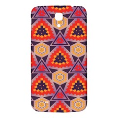 Triangles Honeycombs And Other Shapes Patternsamsung Galaxy Mega I9200 Hardshell Back Case