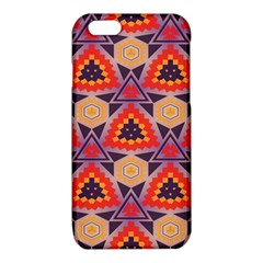 Triangles honeycombs and other shapes patterniPhone 6/6S TPU Case