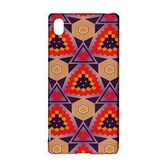 Triangles honeycombs and other shapes pattern			Sony Xperia Z3+ Hardshell Case