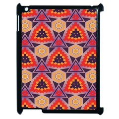 Triangles honeycombs and other shapes pattern			Apple iPad 2 Case (Black)