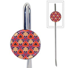 Triangles honeycombs and other shapes patternBook Mark