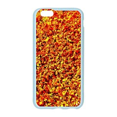 Orange Yellow  Saw Chips Apple Seamless iPhone 6/6S Case (Color)
