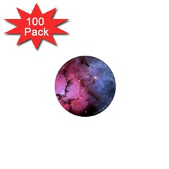 Trifid Nebula 1  Mini Magnets (100 Pack)