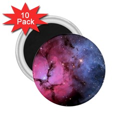 Trifid Nebula 2 25  Magnets (10 Pack)