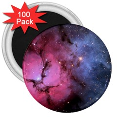 Trifid Nebula 3  Magnets (100 Pack)