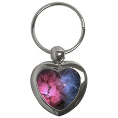 Trifid Nebula Key Chains (heart)