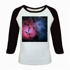 Trifid Nebula Kids Baseball Jerseys