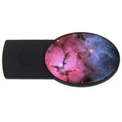 Trifid Nebula Usb Flash Drive Oval (4 Gb)
