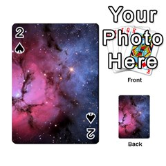 Trifid Nebula Playing Cards 54 Designs