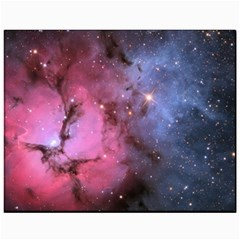 Trifid Nebula Canvas 11  X 14