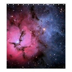 Trifid Nebula Shower Curtain 66  X 72  (large)