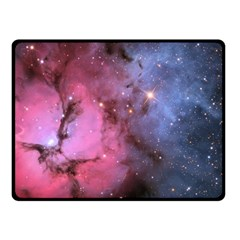 Trifid Nebula Fleece Blanket (small)