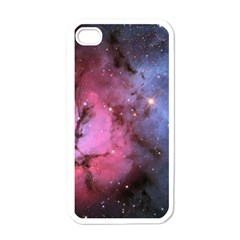 Trifid Nebula Apple Iphone 4 Case (white)