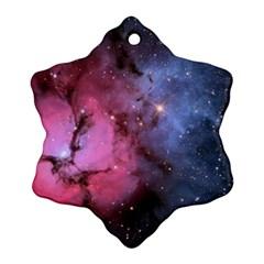 Trifid Nebula Ornament (snowflake)