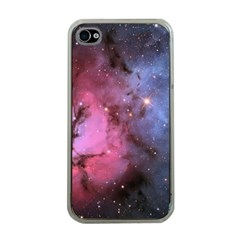 Trifid Nebula Apple Iphone 4 Case (clear)