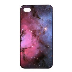 Trifid Nebula Apple Iphone 4/4s Seamless Case (black)
