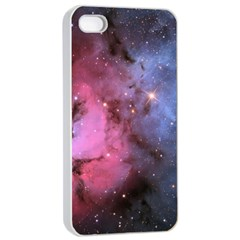 Trifid Nebula Apple Iphone 4/4s Seamless Case (white)