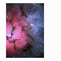 Trifid Nebula Small Garden Flag (two Sides)