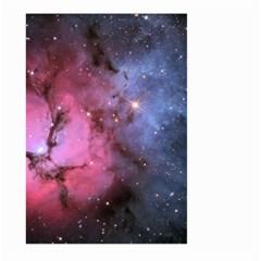 Trifid Nebula Large Garden Flag (two Sides)