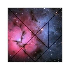 Trifid Nebula Acrylic Tangram Puzzle (6  X 6 )