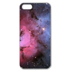 Trifid Nebula Apple Seamless Iphone 5 Case (clear)