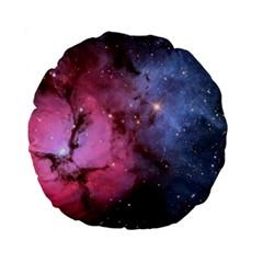 Trifid Nebula Standard 15  Premium Round Cushions