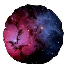 Trifid Nebula Large 18  Premium Round Cushions