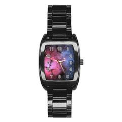 Trifid Nebula Stainless Steel Barrel Watch
