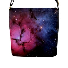 Trifid Nebula Flap Messenger Bag (l)
