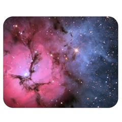 Trifid Nebula Double Sided Flano Blanket (medium)