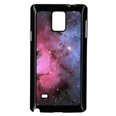 Trifid Nebula Samsung Galaxy Note 4 Case (black)