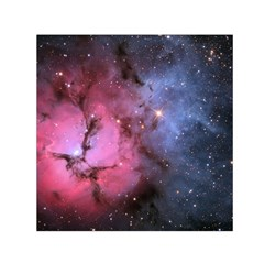 Trifid Nebula Small Satin Scarf (square)