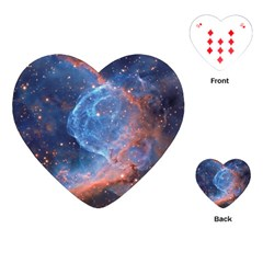 Thor s Helmet Playing Cards (heart)