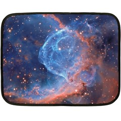 Thor s Helmet Fleece Blanket (mini)
