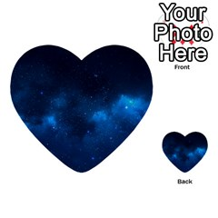 Starry Space Multi Purpose Cards (heart)