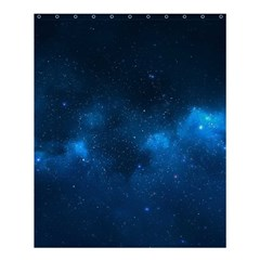 STARRY SPACE Shower Curtain 60  x 72  (Medium)