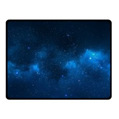 STARRY SPACE Double Sided Fleece Blanket (Small)