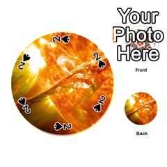 SOLAR FLARE 2 Playing Cards 54 (Round)