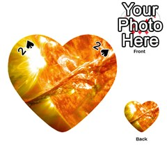 SOLAR FLARE 2 Playing Cards 54 (Heart)