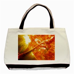 SOLAR FLARE 2 Basic Tote Bag (Two Sides)