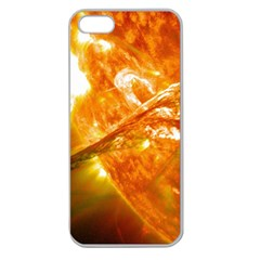 SOLAR FLARE 2 Apple Seamless iPhone 5 Case (Clear)